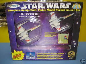 Estes Star Wars Red Squadron X-Wing Starfighters RARE by Estes (Image #1)
