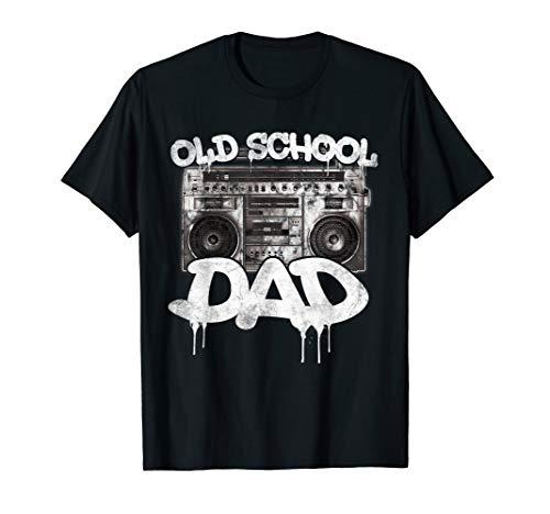 Old School Dad Boombox T-Shirt