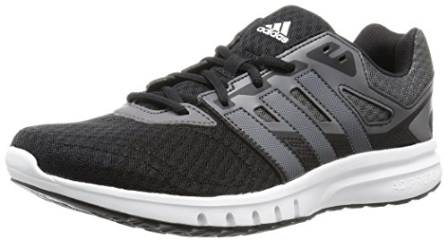 adidas Galaxy 2 M, Zapatillas de Running para Hombre Negro / Blanco / Gris (Negbas / Nocmét / Granit)