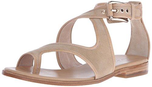 Donald J Pliner Women's LEIA-KS43 Toe Ring Sandal, Sand, 6 M US