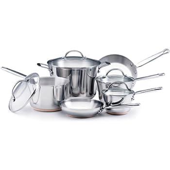 KitchenAid Gourmet Distinctions Stainless Steel 10-Piece Cookware Set