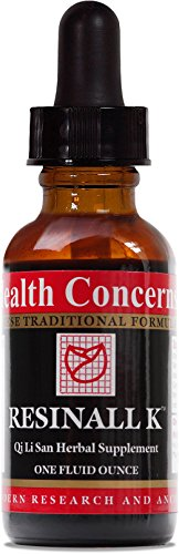 Health Concerns – Resinall K – Qi Li San Herbal Supplement – 1 fl. oz.