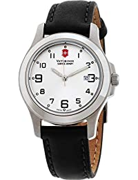 Garrison Elegance Silver Dial Leather Strap Ladies Watch 241388CB