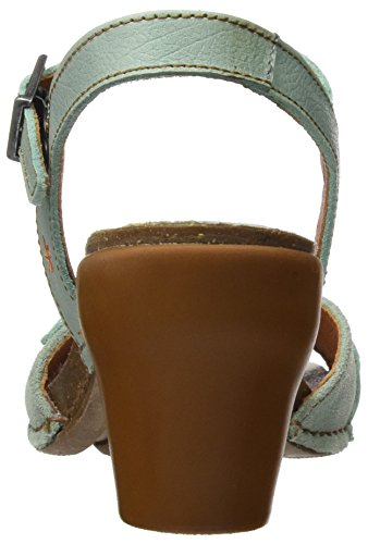 Art Women's 0226 Memphis I Feel Sandals with Ankle Strap Green (Eton) 0ECz6A