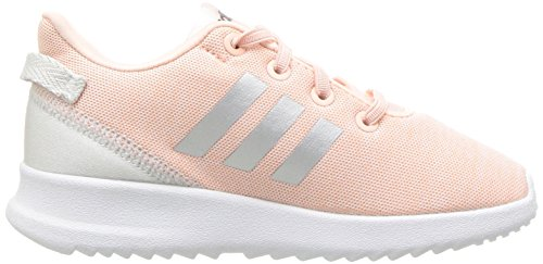 adidas Kids CF Racer TR Running Shoe, Haze Coral/Metallic Silver/White, 7.5K M US Toddler by adidas (Image #7)