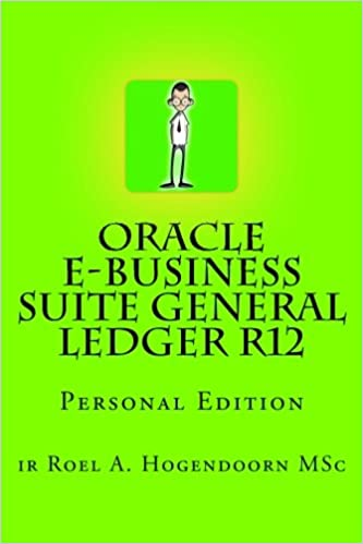 oracle e business suite general ledger r12 personal edition ir