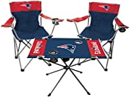 NFL New England Patriots Tailgate Kit, Team Color, One Size