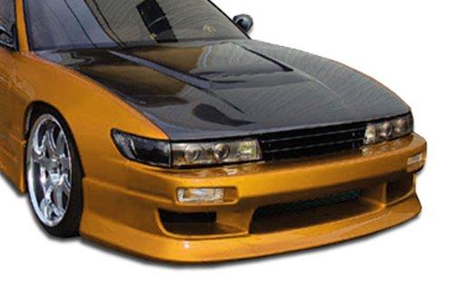 Sport Hood Fiberglass - 1989-1994 Nissan Silvia S13 Duraflex M-1 Sport Hood - 1 Piece