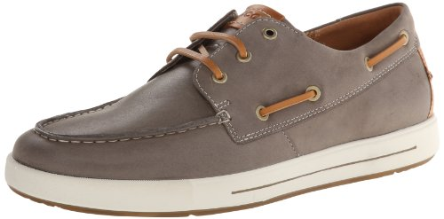 Ecco Men's Eisner Boat Shoe - Moon Rock - 7-7.5 D(M) US