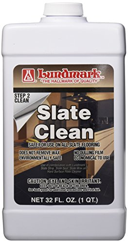 LUNDMARK WAX 3217F32-6 Floor Slate Clean, 32 oz (Slate Wax Floor)