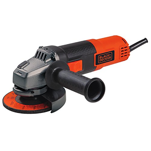 BLACK+DECKER Angle Grinder Tool, 4-1/2-Inch, 6.5-Amp (BDEG400) (Best Angle Grinder For Metal)