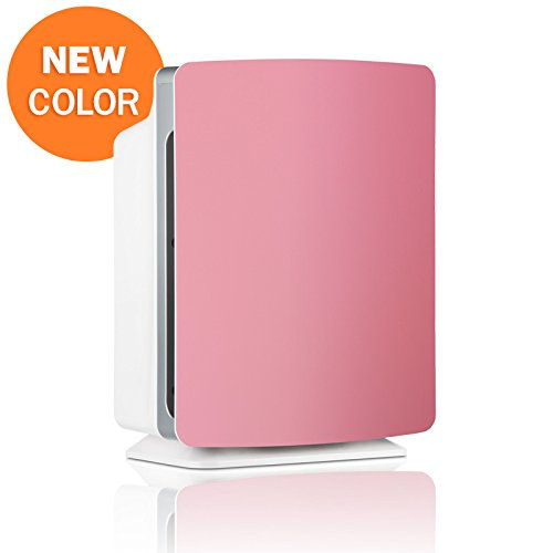 Alen-BreatheSmart-FIT50-Customizable-Air-Purifier-with-2-HEPA-Pure-Filter-for-Allergies-and-Dust-Petal-Pink-Smart-Bundle-Pure-2-Pack
