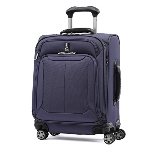 Travelpro Skypro Lite 20'' International Expandable 8-Wheel Carry-On Luggage Spinner (Navy) by Travelpro