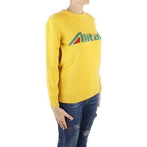 Alberta Amarillo Ferretti Sudadera Lana J098116131029 Mujer 1r1xRqS
