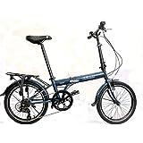 """Hunter Model - SOLOROCK 20"""" 7 Speed Steel Folding Bike"""