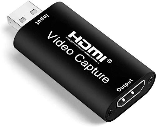 🥇 Salley 1080P HDMI Placa de Captura Vídeo