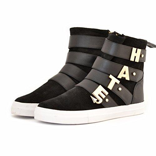 Love Moschino Damen Sneaker Schwarz Schwarz