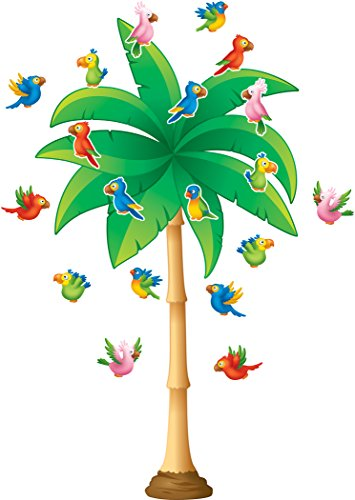 Teacher Created Resources Tropical Trees Bulletin Board (5859)