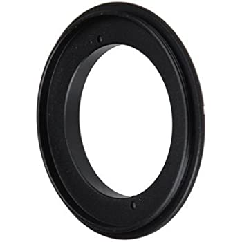 Fotodiox RB2A 62MM Filter Thread Lens, Macro Reverse Ring Camera Mount Adapter for Nikon