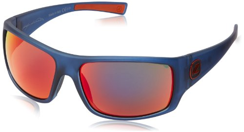 VonZipper Suplex Rectangular Sunglasses,Navy Satin,62.4 mm from VonZipper