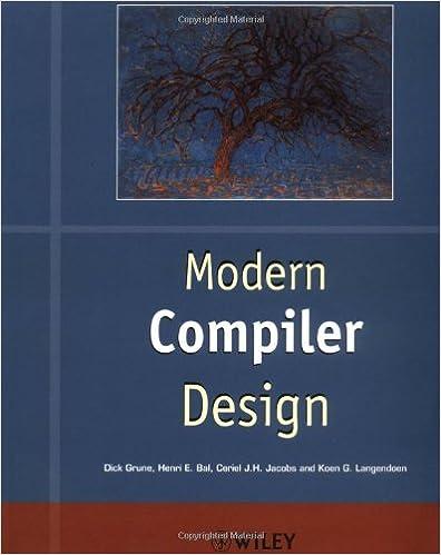 Modern Compiler Design (Worldwide Series in Computer