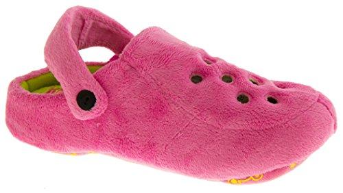 Footwear Studio - Zapatos destalonados mujer rosa - rosa