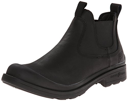 Goodyear GY1004 Pull On Work Boot, Black, 8 M US