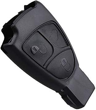 Inion Schlüssel Gehäuse Mit 3 Tasten Für Mercedesbenz Ks09no W203 W208 W210 W211 Usw Auto