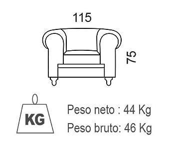 SuenosZzz - Sofa clásico Modelo Chester Color Verde Velvet. Sofa Vintage (1 Plaza), tapizado en Tela, Botones en Respaldo y reposabrazos | Sofas ...