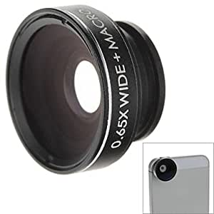 W-65 0.65x Wide and Macro Detachable Lens for iPhone 5 (Black)