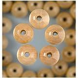 EFCO 6 mm 110-Stück Holzperlen, Natural