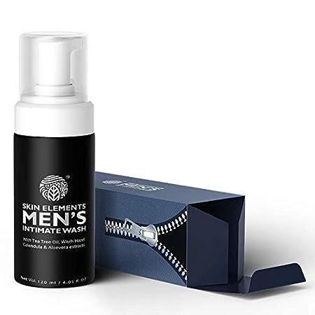 Skin Elements Men's Intimate Wash, Blue, 120 Ml