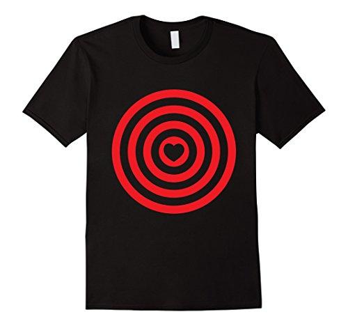 Bullseye Target Circles Halloween Love Heart (Cupid Halloween Costumes Boy)