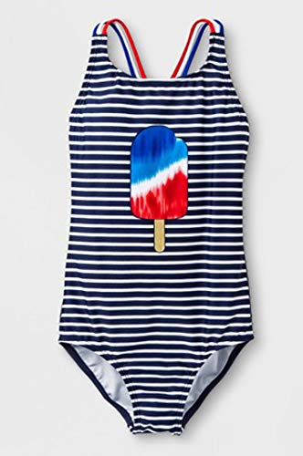 Cat and Jack Girls' Fun in The Sun One Piece Swimsuit (m) Blue from Cat & Jack