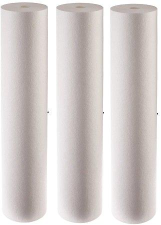 "Pentek DGD-2501-20 Spun Polypropylene Filter Cartridge, 20"" x 4-1/2 (3-Call it a day)"
