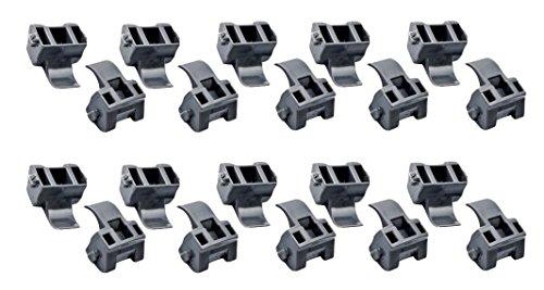 Angle Hinge - MPJ Blum 38C315B3 Blumotion 86 Degree Angle Restriction Hinge Clip, Nylon (Box of 250)