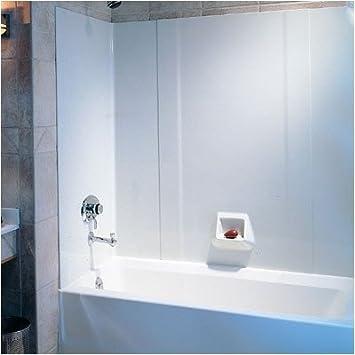 Swanstone RM58000.018 Everyday Essentials Three Panels Tub Wall Kit ...