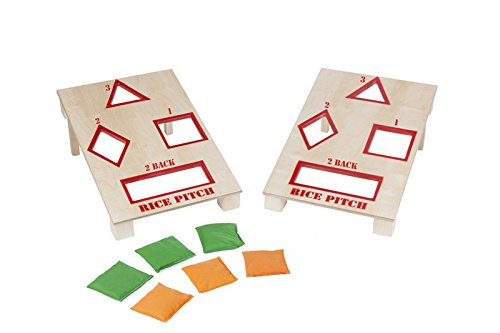 Wooden Rice Pitch Game - Amish Made in USA