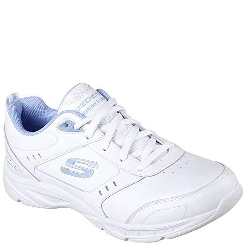 Mystics White Donna Skechers12154wbbk blue Skechers 5wpSxAqA