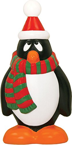 Red Green Holiday Penguin 28 Inch