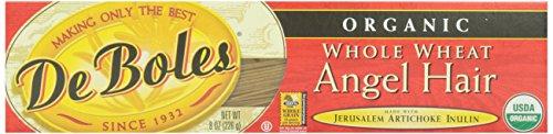 DeBoles, Whole Wheat Angel Hair, Organic, 8 oz Deboles Organic Pasta