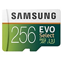 Samsung 256GB 100MB/s (U3) MicroSDXC EVO Select Memory...