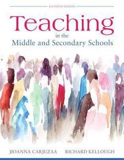 Jioanna Carjuzaa: Teaching in the Middle and Secondary Schools, Pearson Etext with Loose-Leaf Version -- Access Card Package (Hardcover); 2016 Edition