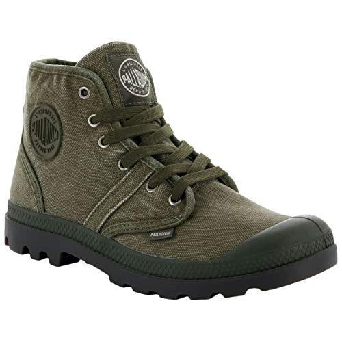 Olive Uomo Sneaker Palladium Pallabrousse Collo a Alto Dark 6f04vqT4H