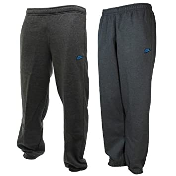 a585ded466e NIKE MENS FLEECE JOGGERS SWOOSH TICK TRACKSUIT BOTTOMS JOGGING CUFFED TRACK  PANTS (X-Large