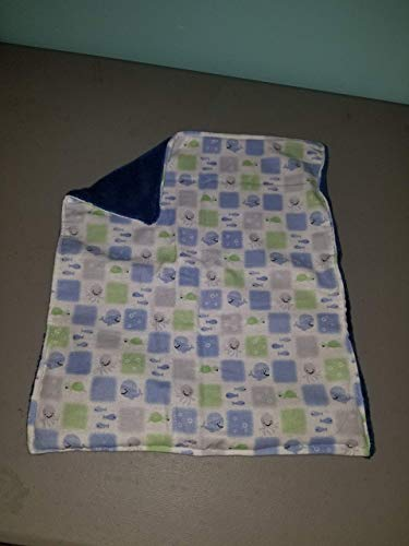(Under the Sea Patchwork Baby Doll Blanket)