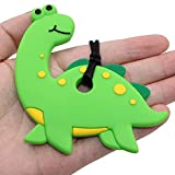 Sensory Chew Necklace Dinosaur for Kids Adults Boys and Girls - Chewable Silicone Necklace for Teething, Autism, Biting, ADHD, SPD Chewy Jewelry by Atsky