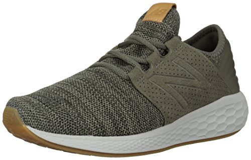 New Balance Men's Cruz V2 Fresh Foam Running Shoe, military foliage green, 11.5 D US