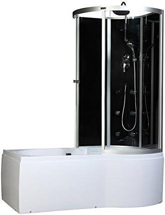 Home Deluxe cabina de ducha mercurio, incluye accesorios ...