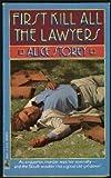 First Kill All the Lawyers, Sarah Shankman, 0671645293